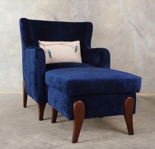 Persian Blue - Arm chair