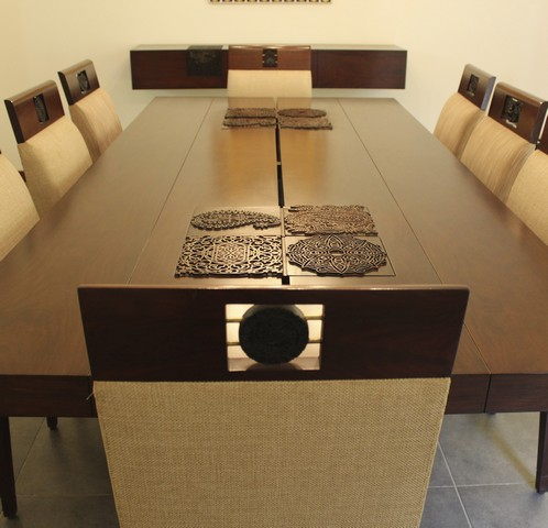 Chaap - Dining table and chairs